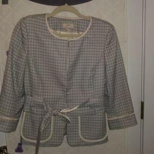 Ann Taylor Loft 3/4 length sleeve blazer